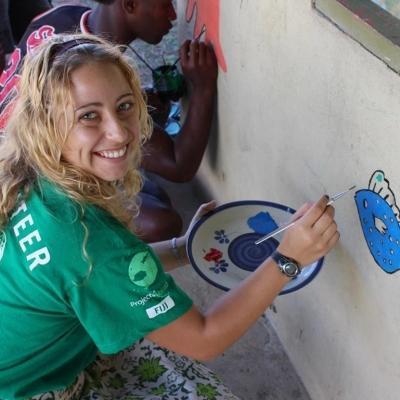 Christina C in Fiji